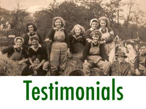 Women's Land Army.co.uk: Testimonials