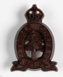 Women's Timber Corps Badge Source: IWM INS 7378
