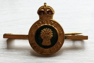 Women's Land Army Tie Pin Source: Catherine Procter Collection