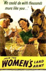 We could do with thousands more like you. Join the Women's Land Army.