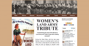 Women's Land Army Tribute Website
