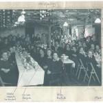Xmas Party meal Leighton Buzzard WLA hostel 18 Dec 1946