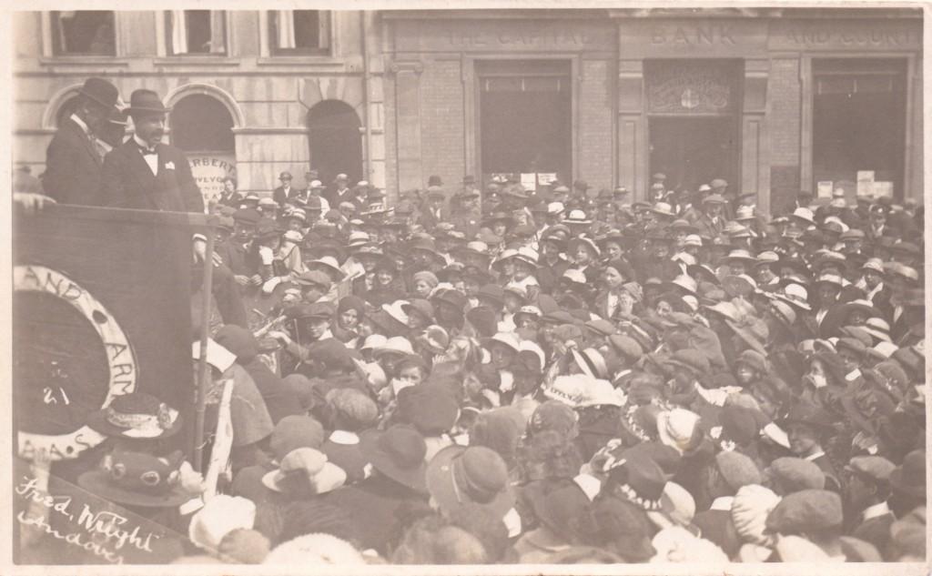 Andover High Street Recruitment Rally 1916/17