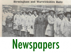 First World War Women's Land Army Archive: Newspapers