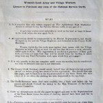 WW1 Form Licence to Purchase any item of the National Service Outfit