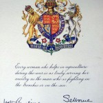 WW1 WLA Certificate