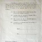 WW1 Enrolment Form