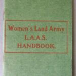 WW1 Agricultural Section Handbook - c1917