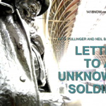 WW1 News: Letter To An Unknown Soldier