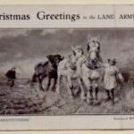 WW1: Christmas Greetings to the Land Army, 1919