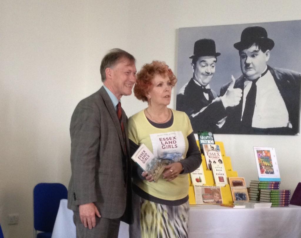 Dee Gordan with Sir David Amess