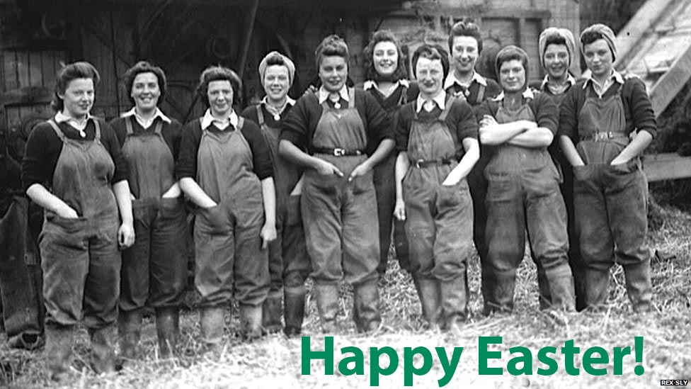 Women's Land Army Easter