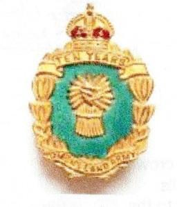 10 Year Women's Land Army Badge (1949)