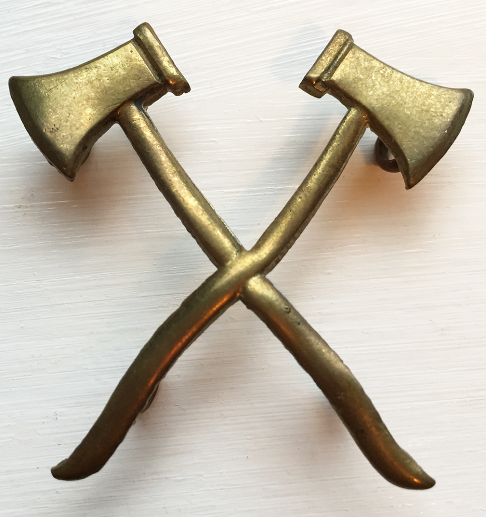 Women's Timber Corps Axes Badge