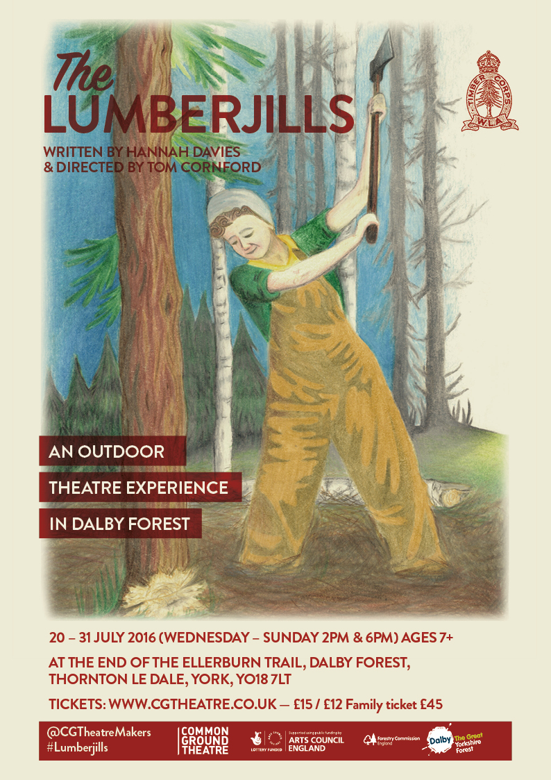 Common Ground Theatre present The Lumberjills by Hannah Davies and Tom Cornford