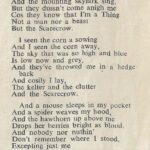 Happy New Years Eve: Song of a Scarecrow by M.Capes