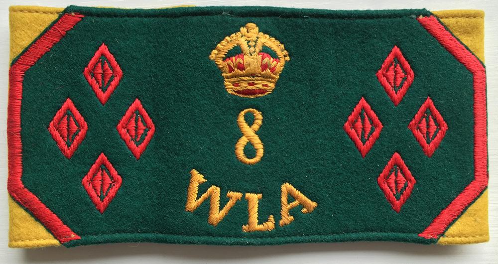 8 Year WLA Armband