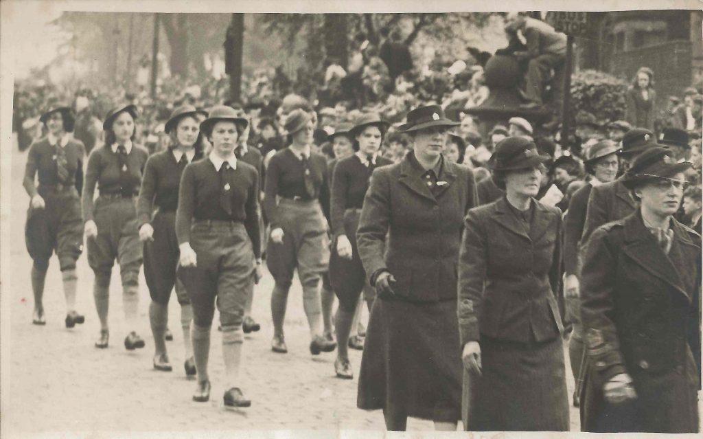 WLA parade in Preston, May 1942?