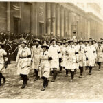 WW1 Photo: Land Girl March for Lord Mayor's Show
