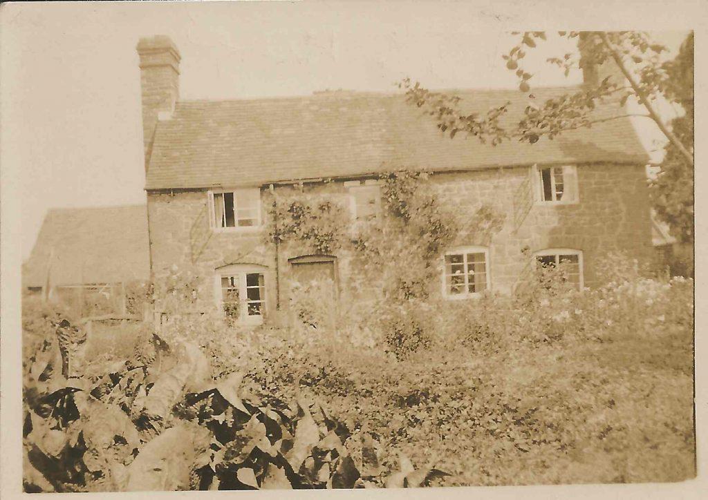 Dorothy's first billet in Shropshire.