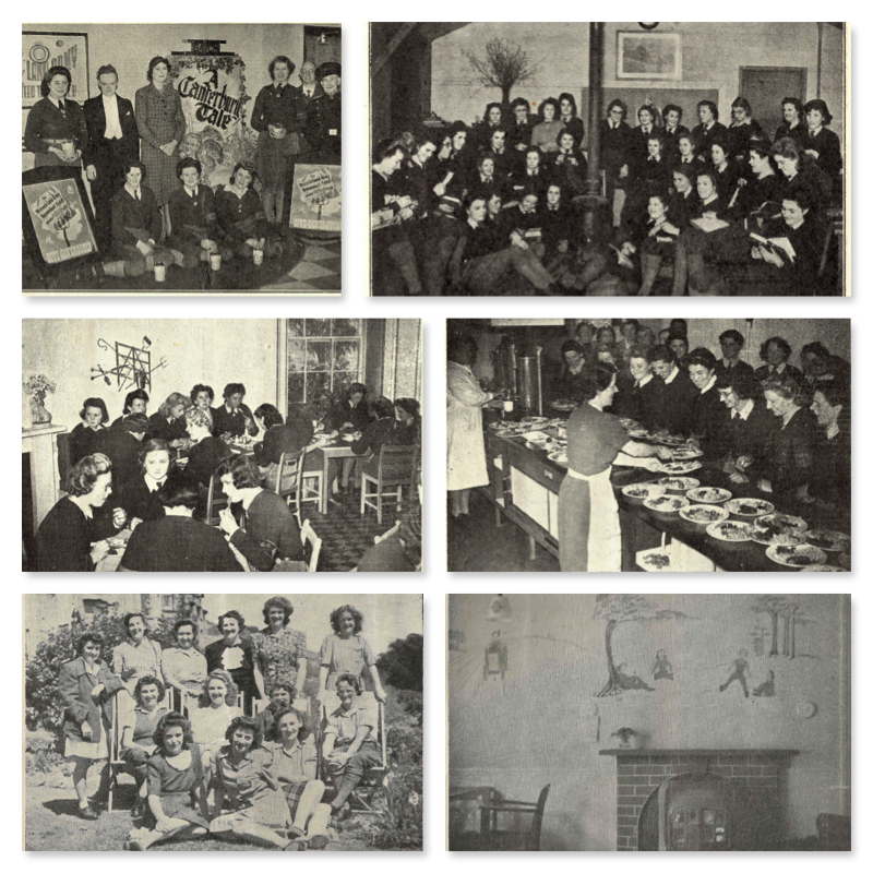 Clubs and Hostels Collage