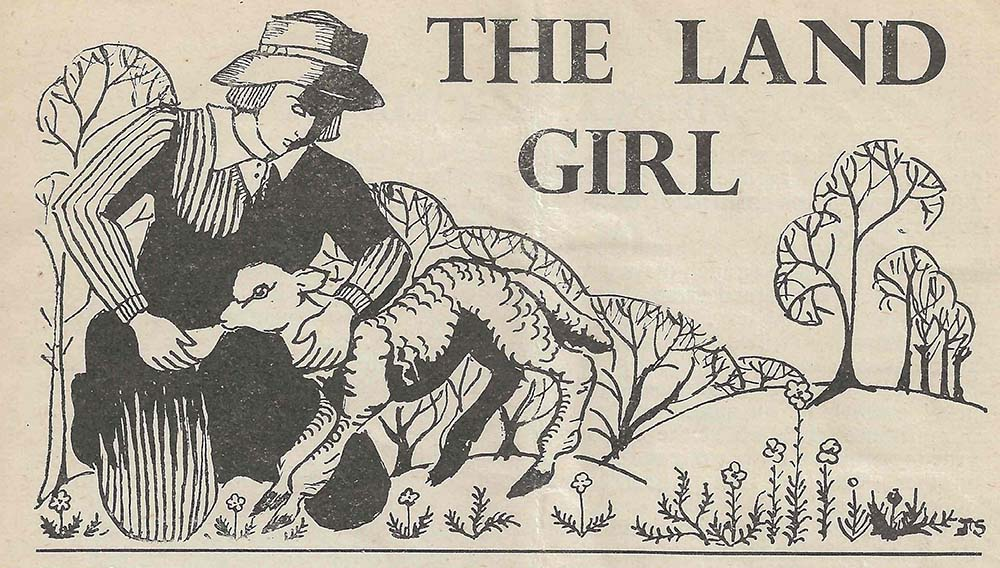 The Land Girl Image January 1943