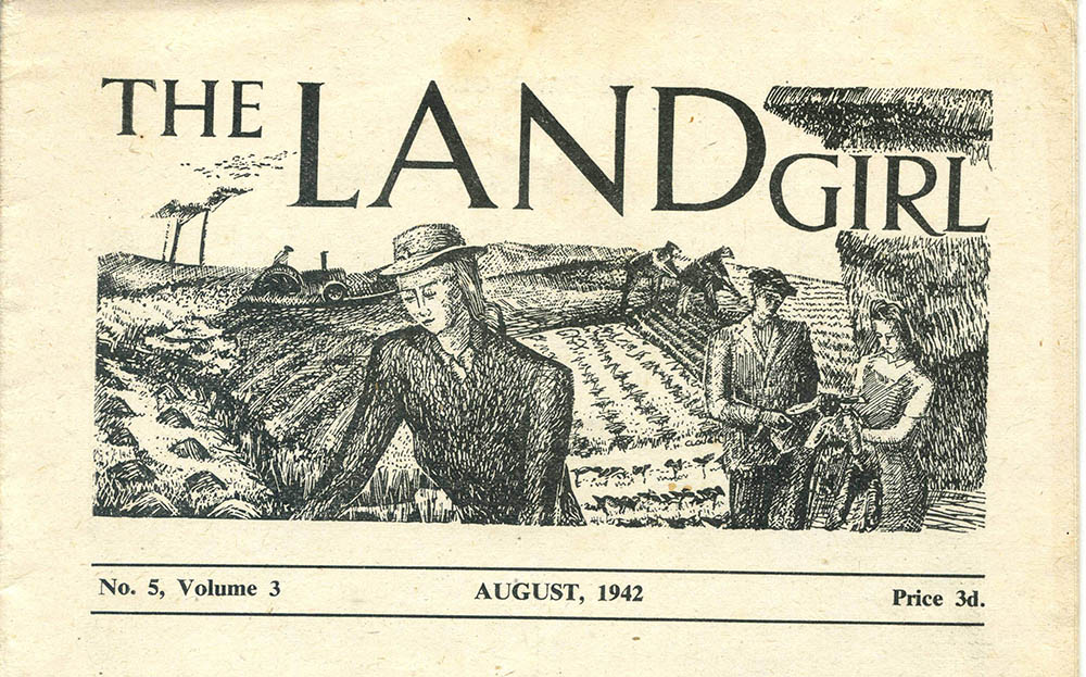 August 1942 edition of The Land Girl