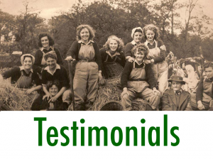 Women's Land Army.co.uk: Testimonials