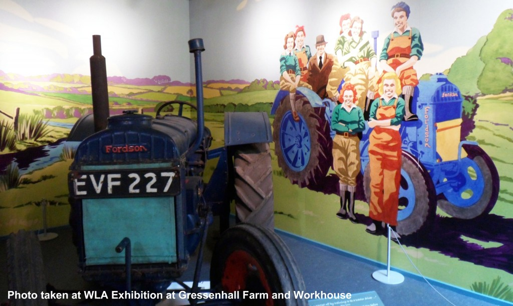 Fordson Tractor At Gressenhall Museum