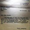 WW2 Proficiency Test Letter
