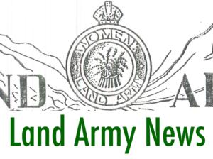 Post-WW2 Archive: Land Army News