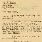 WW2 Acceptance Letter