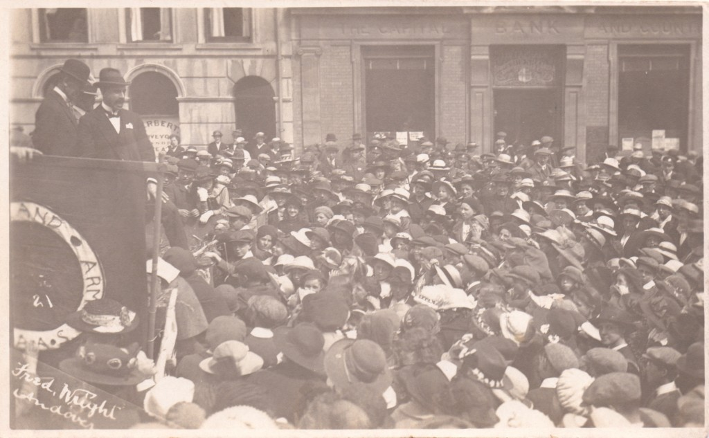 Andover High Street Recruitment Rally 1916/17