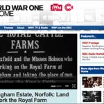 Video: Sandringham Estate, Norfolk: Land Girls Work the Royal Farm (WW1)