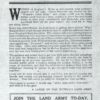 WW1 A Landswoman's Appeal To All Women In The Land