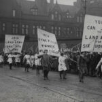 WW1 Photo: Recruitment Rally in Lancashire