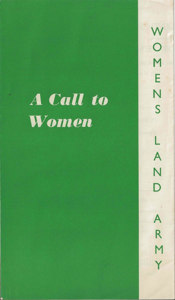 A Call To Women Leaflet Front Source: Rachel Brenda Lees