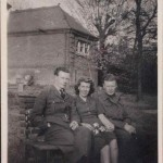 Denny, ? Joan Birchall & Eddie, Ipswich