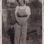 Joan Birchall 36 - has on the back with love from Ena 12-11-1945