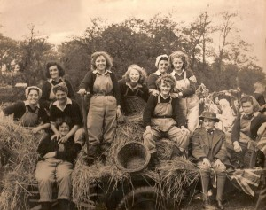 Local Land Girls enjoying time off during the Talgarth Carnival Source: Tony Price