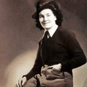 Nancy Jones (nee Charles) Source: Ceri Jones (Nancy's grand-daughter)