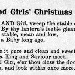 WW1 Land Girls' Christmas Carol and Nativity Scene