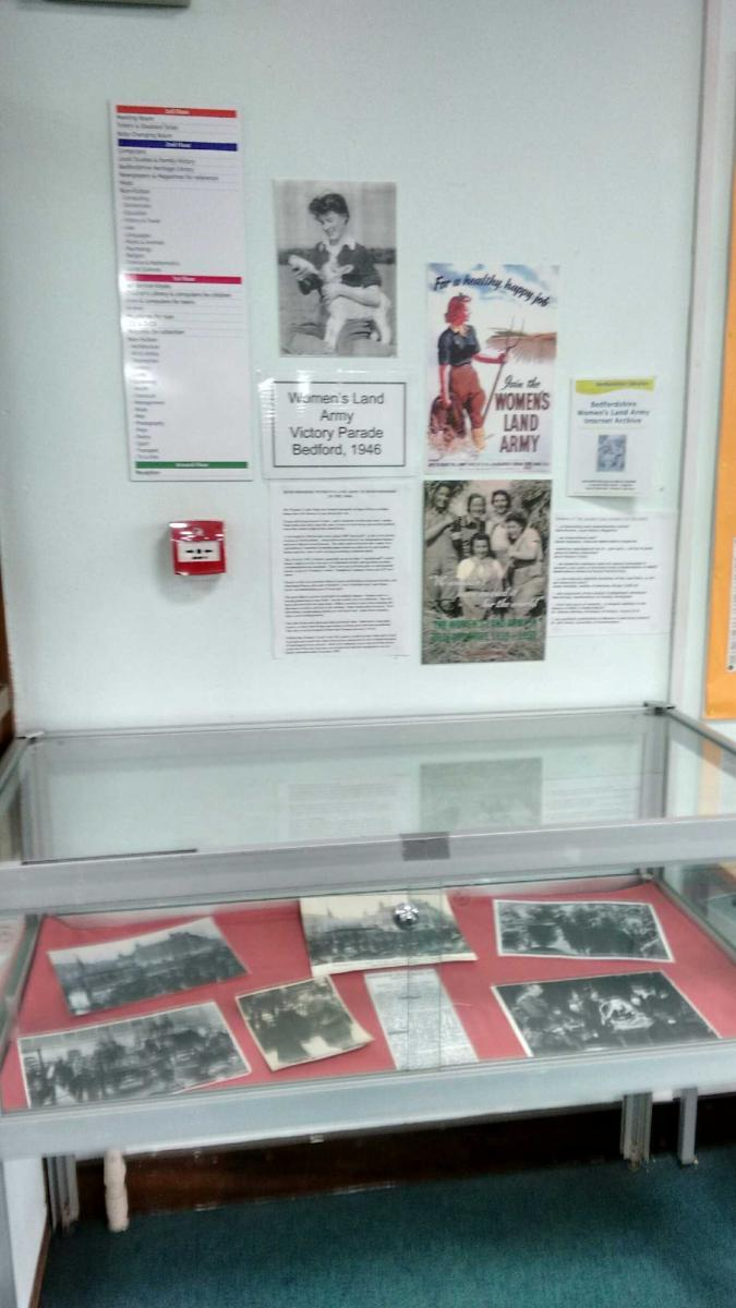 Bedford Central Library WLA Display 3