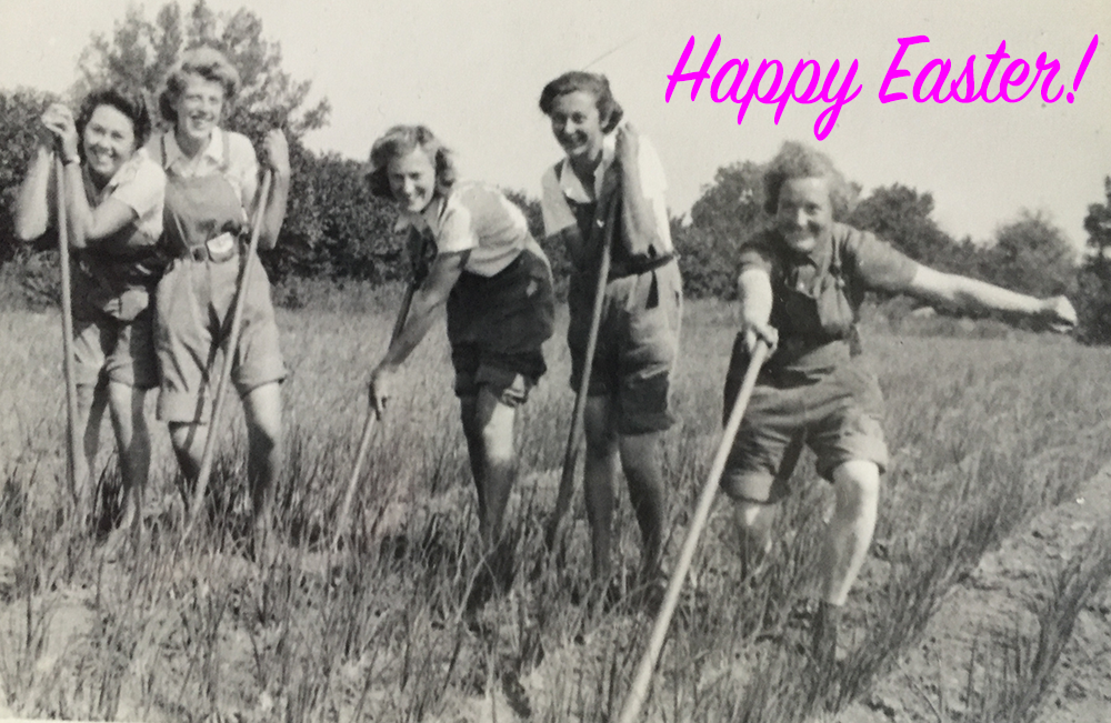 Happy Easter 2016 Women's Land Army