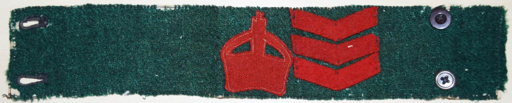 Martha Bagnall Women's Land Army First World War Armband