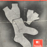 World Wide Knit in Public Day: Gumboot Stockings and Mittens Knitting Leaflet