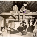77 years ago...Lincolnshire Land Girls in their hostel