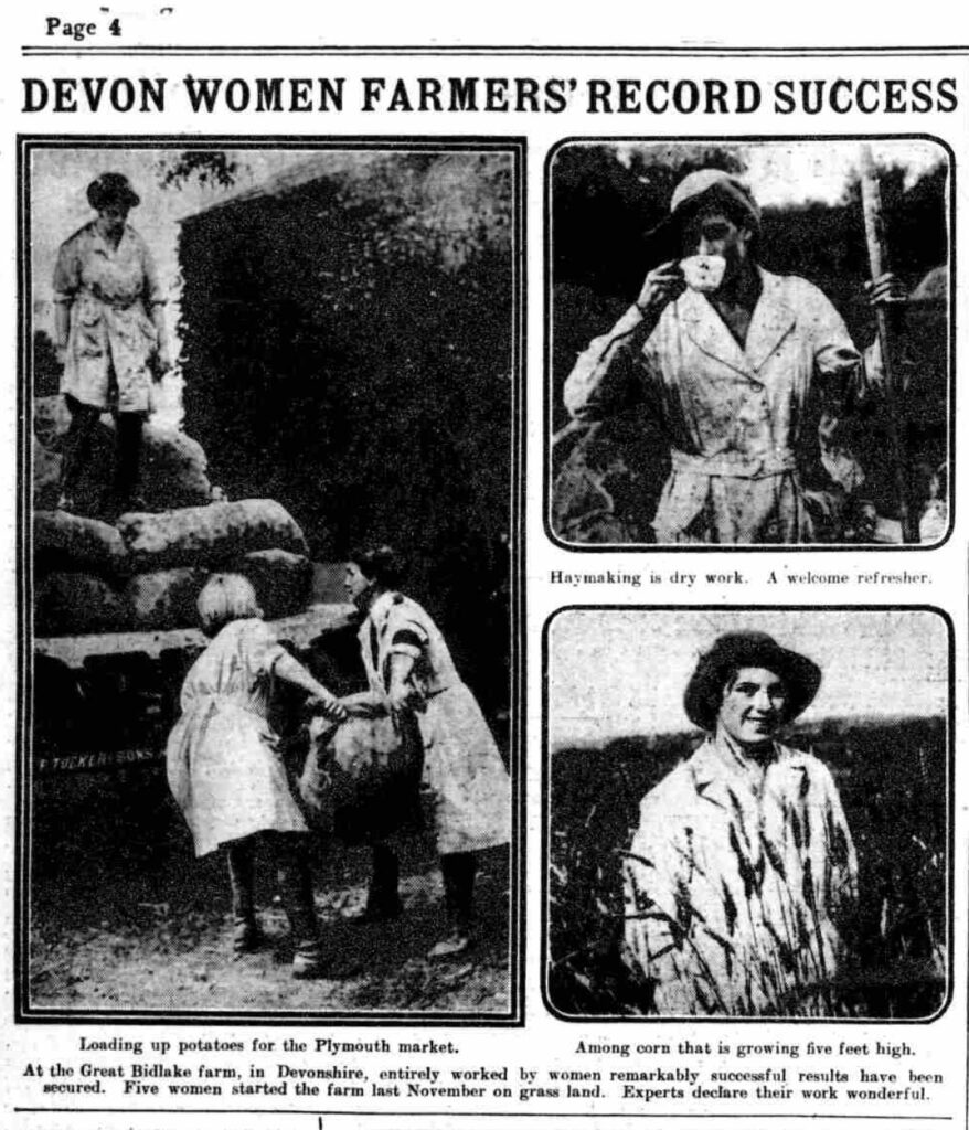 Photos from the Daily Mirror, Friday 16 August 1918