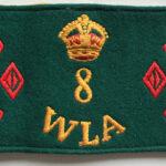 WLA 8 year Armband