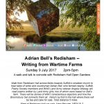 Adrian Bell's Redisham 'Writing from Wartime Farms' - 9th July 2017